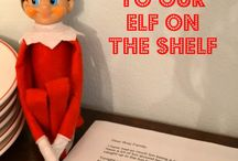 Elf on the Shelf ideas / by Lisa Mitchell-Cucinella