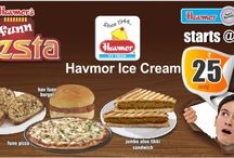 Havmor's Funn Fiesta! / Offers Offers Offers! Great food now starting at Rs. 29 only!  The Funn Fiesta is on!