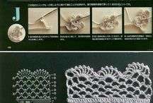 Crochety edges / edgings and trims