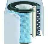 Healthmate Air Purifiers / Austin Air is the company behind the HealthMate line of air cleaners. These cleaners are made of steel and made to last. They use true HEPA medical filters to match those used in hospitals. They come with 5 year warranties. There are multiple units and they can clean areas up to 1,500 square feet.