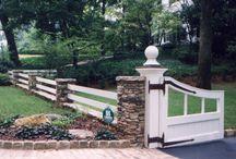 Subdivision Entrances