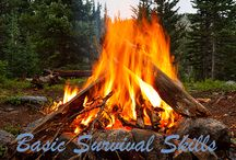 Survival tips for a go bag,that all persons need to appreciate in fearfull times. / Fire building,shelter,water etc