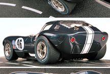 Slots car race