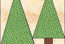 Quilt, paperpiecing en patchwork / Voorbeelden