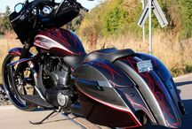 Baggers victory motorcycles