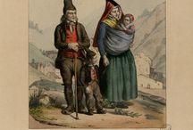 Costumes Hautes Pyrénées XIX ème