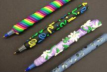 глиняные ручки