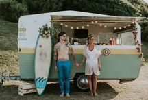 Mariage sur le thème du surf