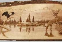 Wood Burning Art