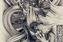 Warrior tatto