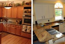 Before and After Photos / Take a look at our before and after photos to see what Kitchen Solvers can offer you for a kitchen remodel.
