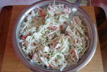 Saláty a pomazánky / Saláty