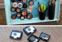 diy organization for makeup