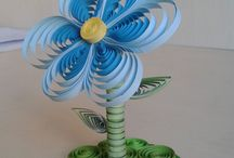 moje / quiling, diy, quilling animal, quilling flower