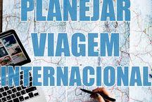 Planejar viajem internacional