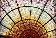 stain glass / all beautiful glass work