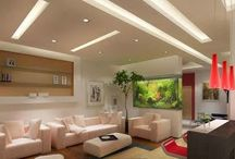 Top 20 Suspended ceiling tiles, lighting pop designs for living room 2015 part 2 / Top 20 Suspended ceiling tiles, lighting pop designs for living room 2015 part 2