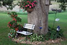Trädgårdsprojekt. / Idéer till trädgården.