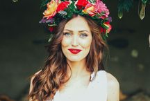 Inspiration: Flower Crowns / Inspiration board for a spring time flower crown family photoshoot