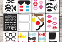 Party Ideas - Photo Booth Props