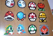 Strijkkralen Mario