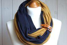 шарфы-шапки-воротники