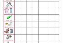 Chore charts for FJ