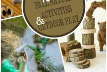 Nature Crafts for Kids / This collaborative board is a collection of the very best nature-inspired crafts for children. If you have a passion for kids in nature and would like to contribute to this board, please email melissa (at) firefliesandmudpies (dot) com.