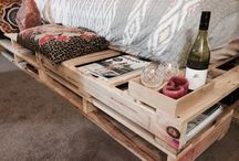 Pallet bed inspirations / Home sweet home