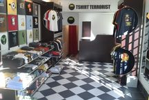 How to build a T-shirt Shop / The photo-record of our new HQ build : 13 4th Avenue Parkhurst