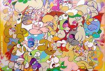 Eric Bourdon, Paintings / Acrylic paintings by Eric Bourdon, artist painter in Lille, France ✿ ericbourdon.com