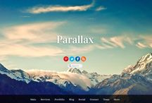 Some Functions of Parallax website designer