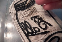 Make your own stamps / How to carve and/or make your own stamps.