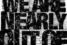 Typography / by Jana Powell Schermerhorn