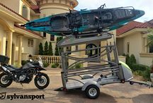 Motorcycle Camping Trailers