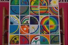 geometrici e disegni draw