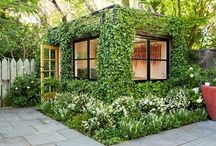 inspiration  |  garden studio / feeding my fantasy of a garden studio that's mine... all mine