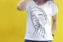 Quirky White Tees