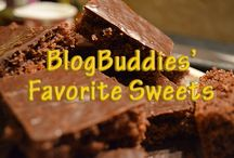 BlogBuddies: Desserts & Sweet Treats for Sweet Tooths / We're a gang of sweet tooths and can't resist sweet treats.