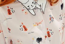 Cats, cats and more cats...in fashion. / Male and Female fashion with cats!