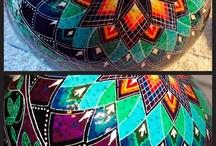 Malowane strusie jaja