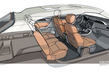 AUTOMOTIVE > interiors sketch