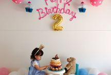 ⁂2歳お誕生日