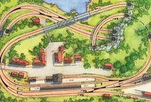 vasútmodell pályatervek