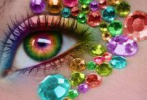 Olhos/Maquiagens