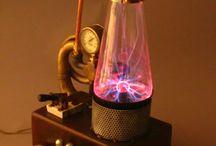 Lamp plasma frankenstein