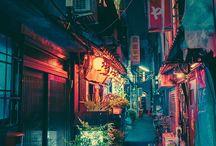 下町風景(ヤーパン)