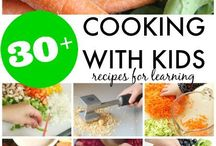 Kids cooking! / Easy recipes that you can use to cook with your kids! Children love cooking and baking! Healthy eating habbits start from the kitchen!