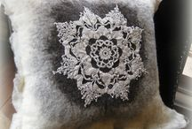 Felt by Fever Tree / Hand felted pieces by Fever Tree Design.