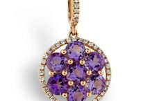 February Birthstone Jewelry / For people with February birthdays, the amethyst makes a perfect birthstone.